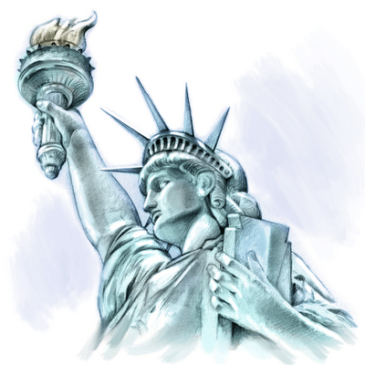 Understanding the Different Forex Trading Hours ... Statue Of Liberty Drawing Face