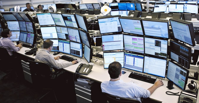 proprietary trading floor