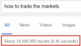 how to trade the markets